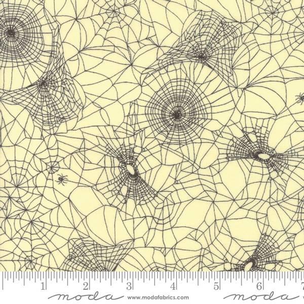 Bilde av Hallo Harvest - 3-6 cm sort spindelvev på creme