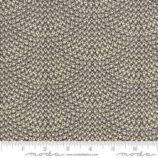Bilde av Hallo Harvest - 5 mm sort skjellmønster på creme