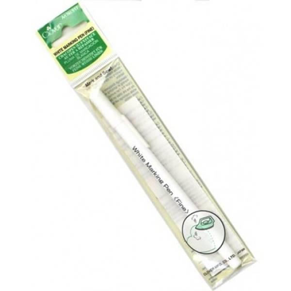 Bilde av Markeringspenn Clover, hvit, strykes bort
