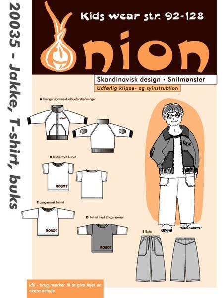 Bilde av Onion 20035 - jakke, t-skjorte, bukse