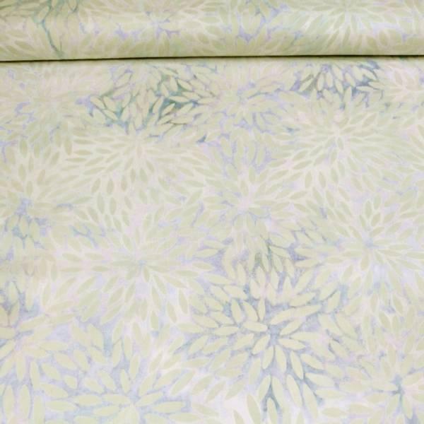 Bilde av Fantasy - dusgrønn 2 cm mønster på grå-toner