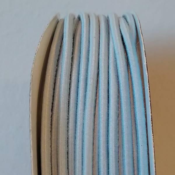 Bilde av Rundstrikk - 3 mm, lysblå