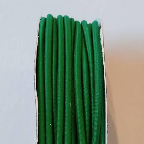 Bilde av Rundstrikk - 3 mm, grønn