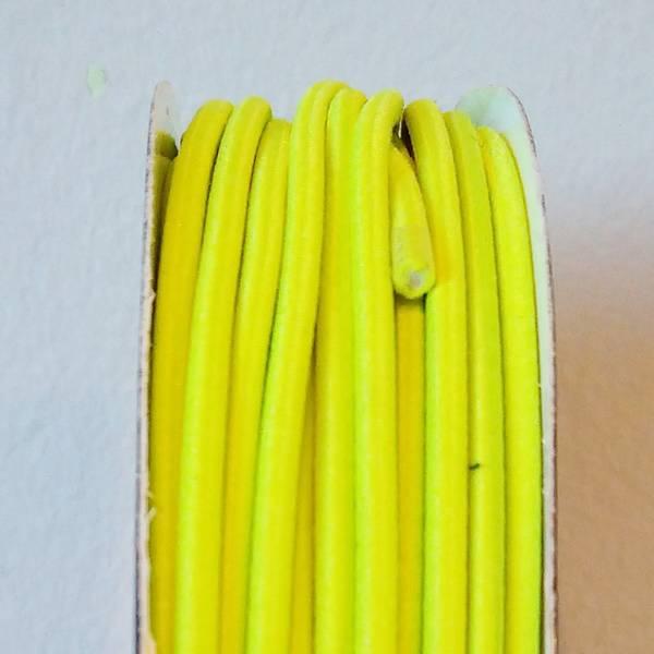 Bilde av Rundstrikk - 3 mm, neongul