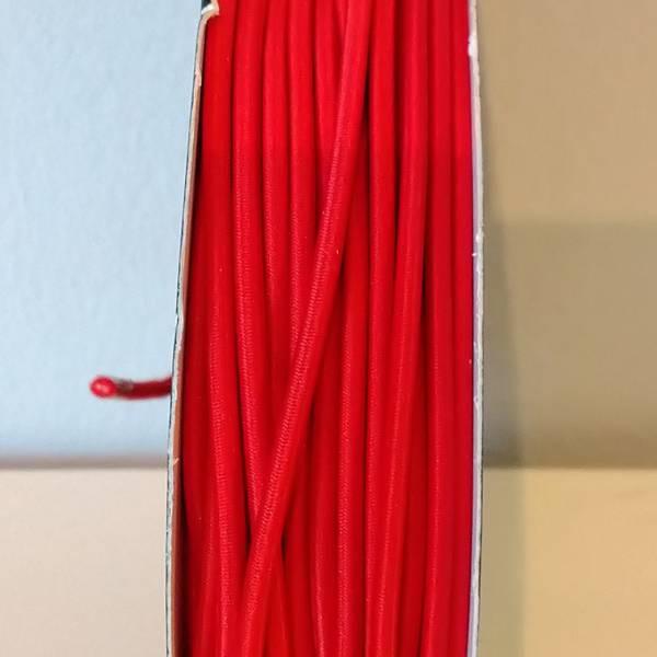 Bilde av Rundstrikk - 3 mm, rød