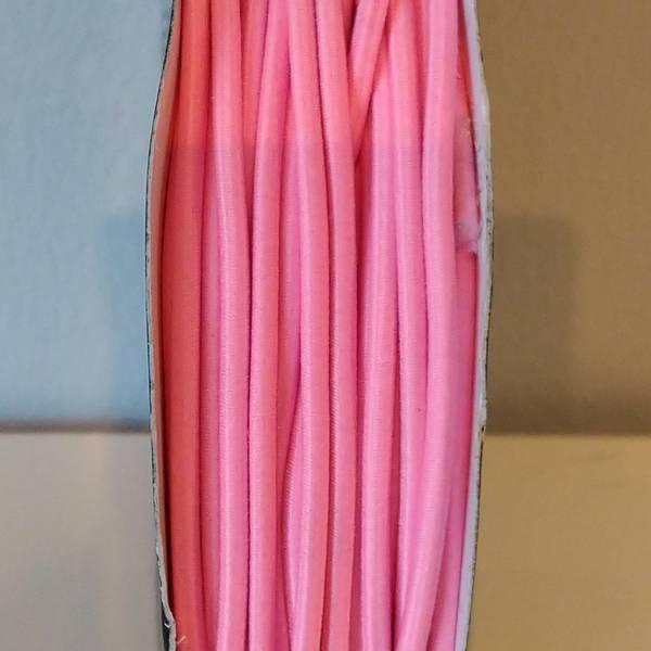 Bilde av Rundstrikk - 3 mm, rosa