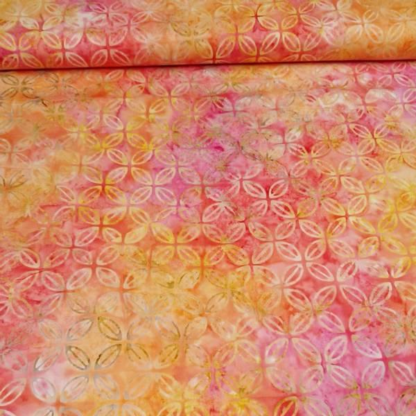 Bilde av Fantasy - oransje-rosa 7 cm blomster
