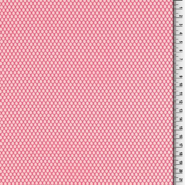 Bilde av Mesh - grov, fast - sterk rosa