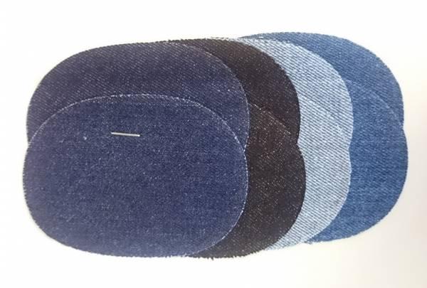 Bilde av Jeans - Mini dongerilapper, 7x10 cm