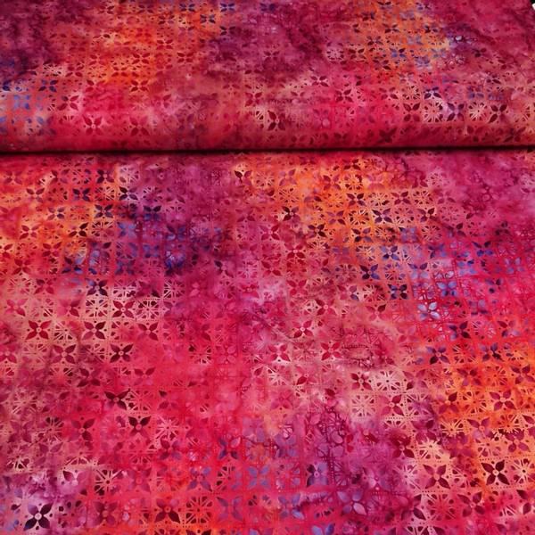 Bilde av Fantasy - rosa-oransje-lilla 2 cm mønster
