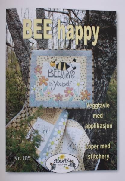 Bilde av AnnAKa 185 - BEE Happy - løper & veggtavle