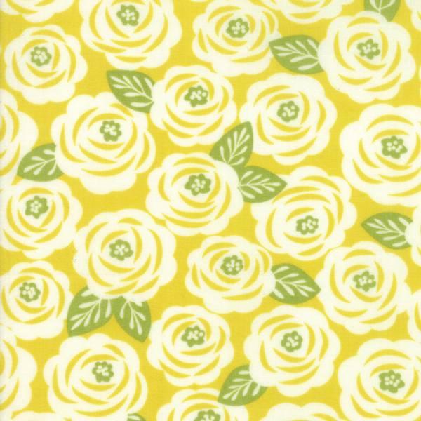 Bilde av 45 cm Lazy Days - 4 cm blomsterhoder på gulgrønn