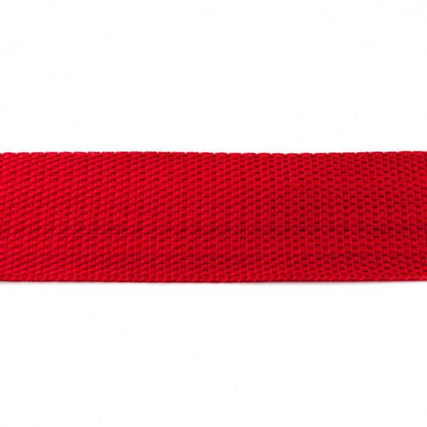 Bilde av Gjordebånd, 38 mm, mørk rød
