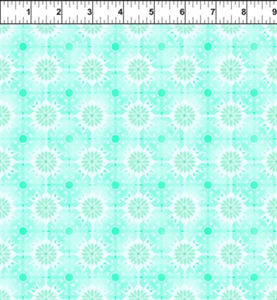 Bilde av Treasures of Nature - mintgrønn mønstret