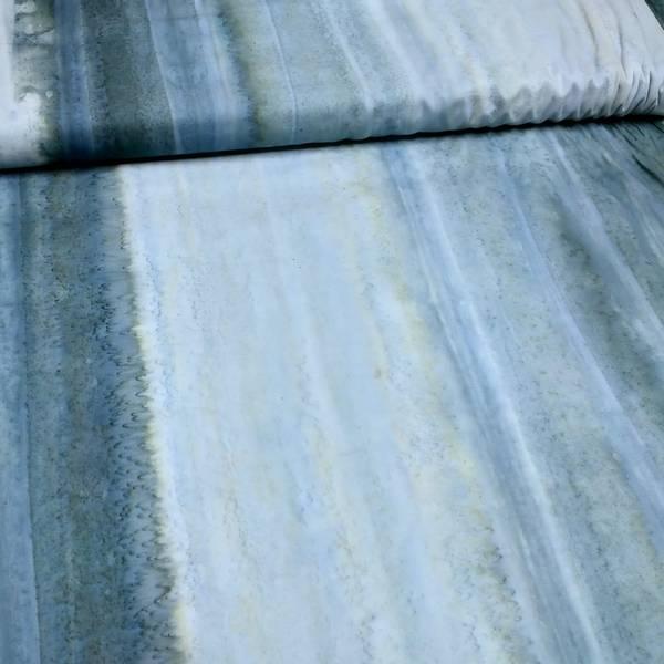 Bilde av Batikk - blågrå stripete mønster