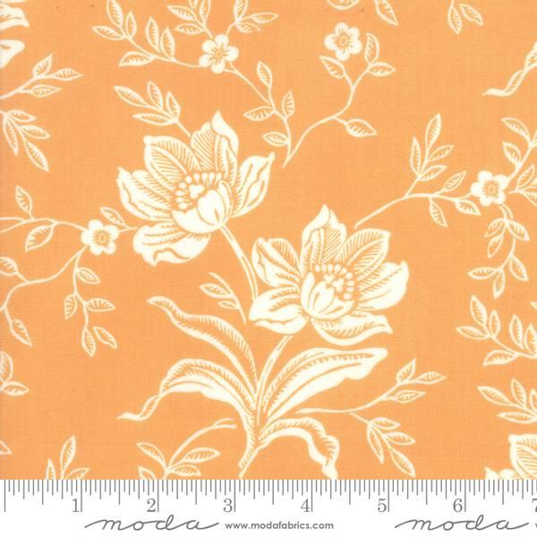 Bilde av 50 cm All Hallow's Eve - 12 cm blomst på dus oransje