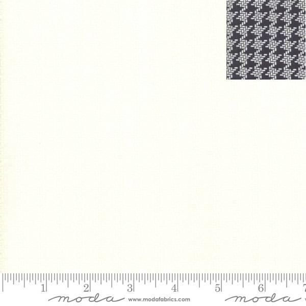 Bilde av All Hallow's Eve - creme 1 cm hundetannmønster