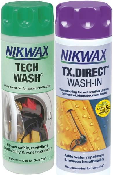 Bilde av Nikwax - 2er pakk TX DirectWash + TechWash, 2*300ml