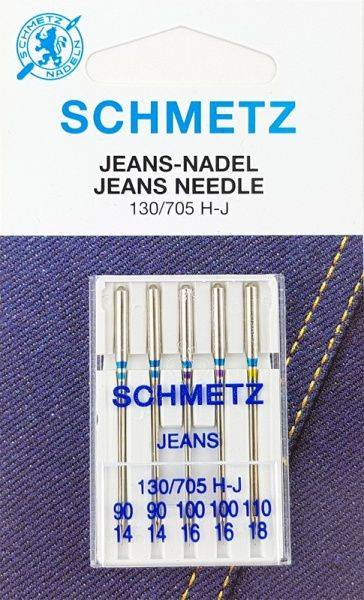 Bilde av Schmetz symaskinnål - 5 st Dongeri/ Jeans 90-110