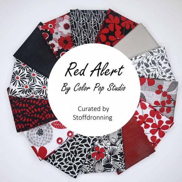 Bilde av Red Alert - Stoffpakke, 30x55 cm, 14 st.