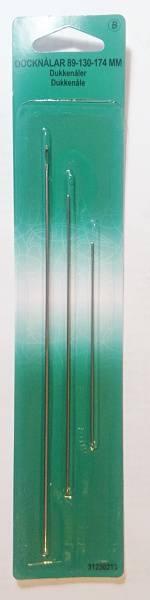 Bilde av Dukkenåler, putenåler - set med 3 st.