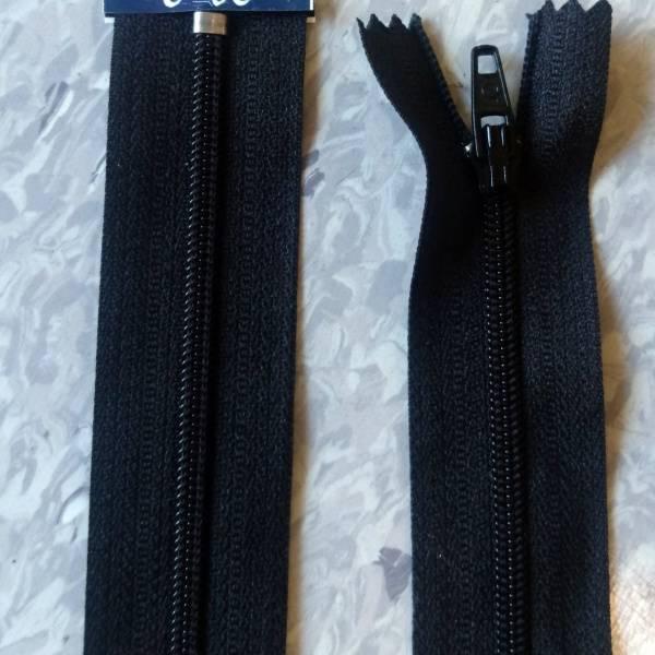 Bilde av Spiralglidelås, 4mm ikke delbar, sort