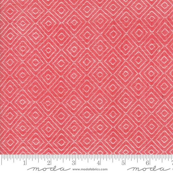 Bilde av Bonnie & Camille Wovens - garnfarget - røde ruter, 2 cm
