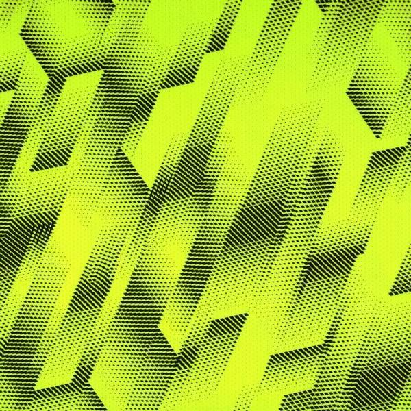 Bilde av Funksjonsjersey - sportjersey, sort mønster på neongul
