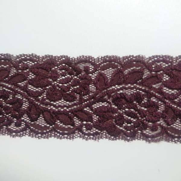 Bilde av 2 m Stretchblonde - 6,5 cm, burgunder