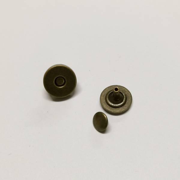 Bilde av Magnet knapp - bronze, 1,5cm