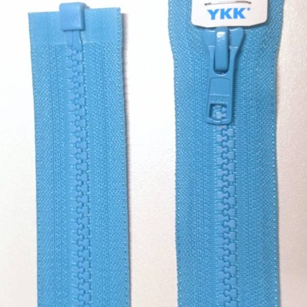 Bilde av YKK turkis Vislon delbar glidelås
