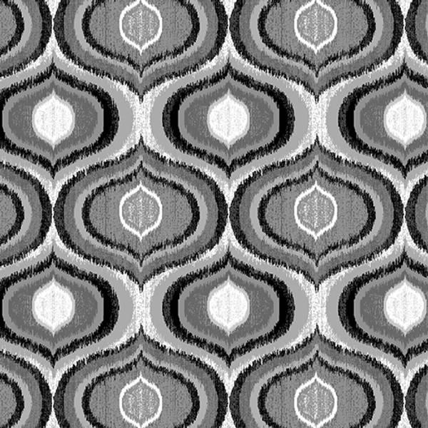 Bilde av Limoncello - Pearl Ogee Pewter - 7 cm grå-sølv retromønster