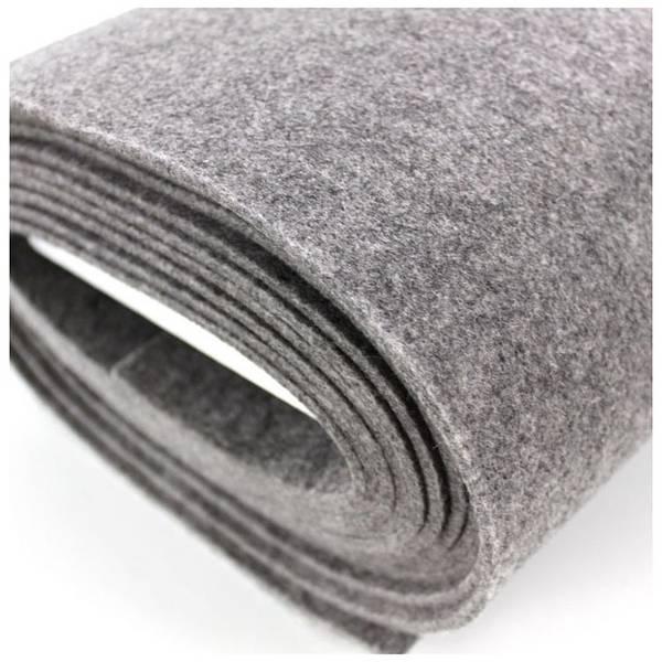 Bilde av Filt grå melert, 5 mm tykk, stiv