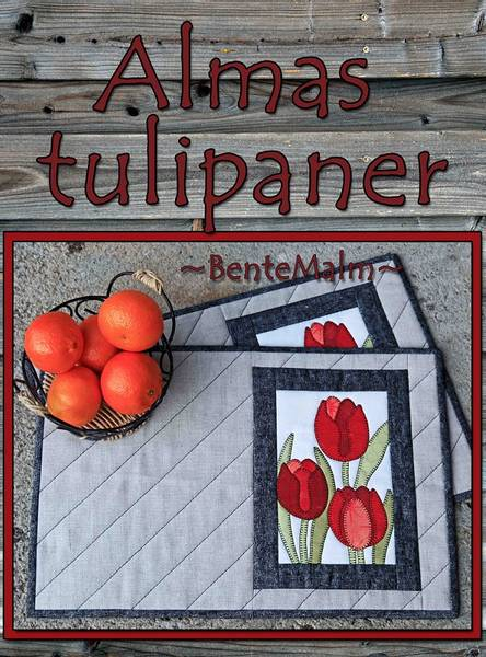 Bilde av Bente Malm 211 - Almas Tulipaner - brikker