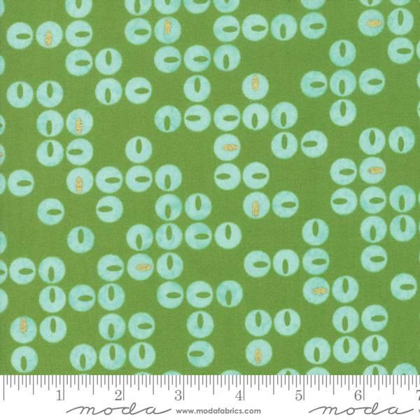 Bilde av Day in Paris - 1 cm dots på eplegrønn