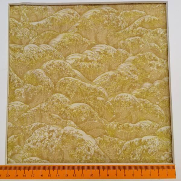 Bilde av Oriental traditions natural - creme mønster med gulltrykk