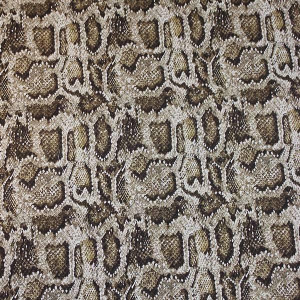 Bilde av Dyreprint beige/brun slange 2-4 cm flekker