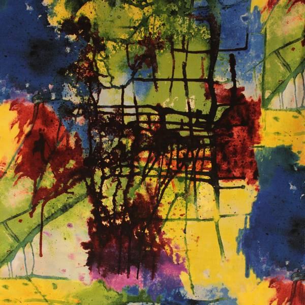 Bilde av Fargerike malingssplatter
