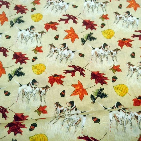 Bilde av Jakt hunder og høstblader på sand, 2-8 cm