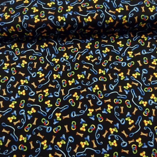 Bilde av Hundetilbehør, flerfarget på svart, 1-2 cm