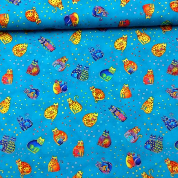 Bilde av Fanciful Felines - Katt, tropisk blå, 2-4 cm