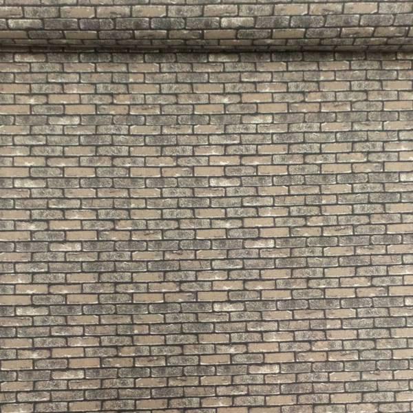 Bilde av Murstein - brun/grå, 1cm høye
