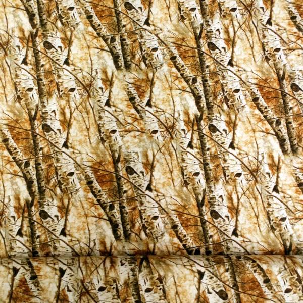 Bilde av Trær - hvit bjørk på sand/brent oransje, 1-2,5cm tykke