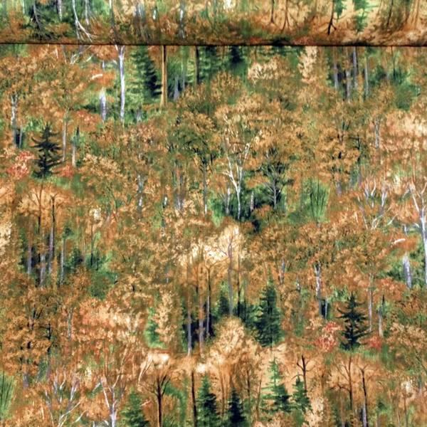 Bilde av Skog - grønn/brun, grå 2 mm stammer