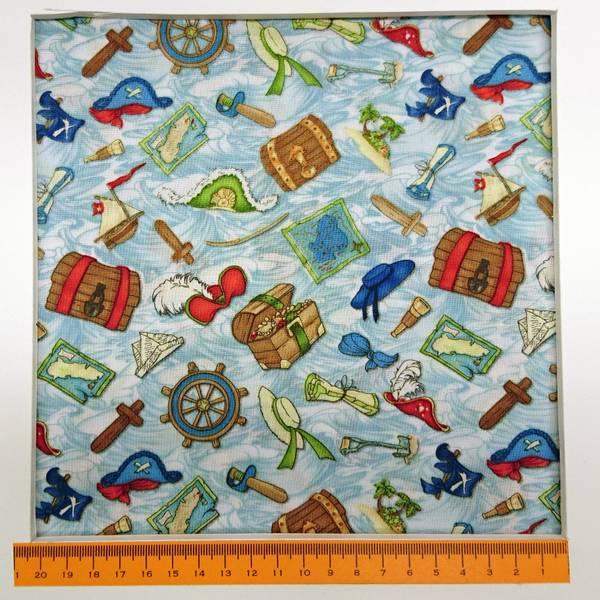 Bilde av Treasure Bay - 2-4 cm flerfargete skatter og pirat-tilbehør