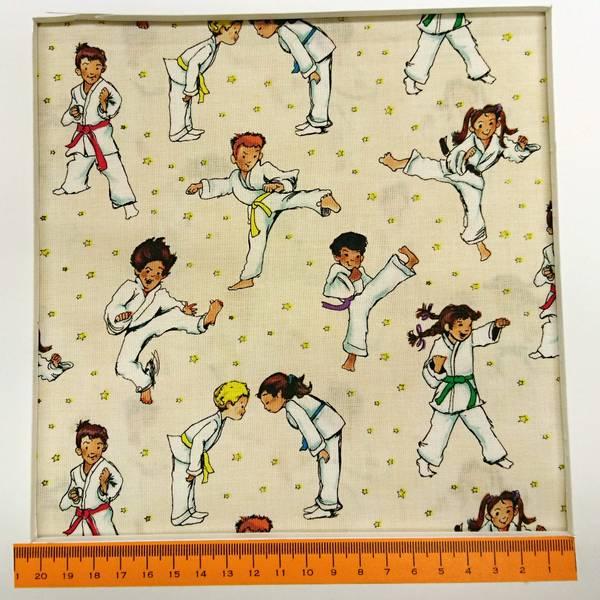 Bilde av Action Kids - ca 8 cm judoka - judo barn på lys vanilje