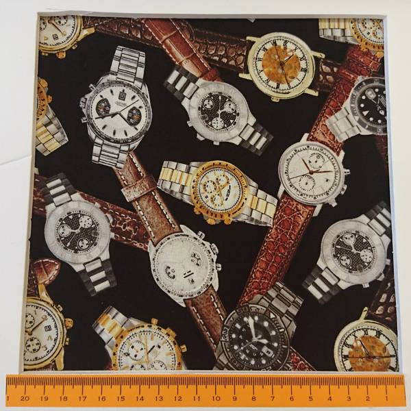 Bilde av Armbåndsklokker, herreklokker, 4 cm pluss armbånd