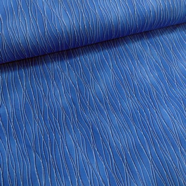 Bilde av Striper - 1 mm blå bølgelinjer på koboltblå