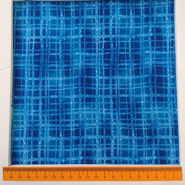 Bilde av Terra Bella - 1 cm blå rutemønster