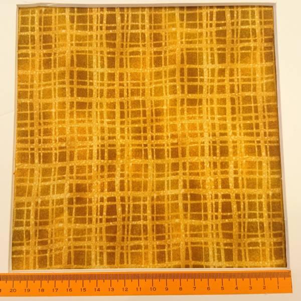 Bilde av Terra Bella - okergul 1 cm rutemønster